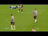 Чемпионат Англии 2013-14 / 9-й тур / Сандерленд - Ньюкасл / 1 тайм [720p HD]
